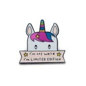 I'm Not Weird I'm Limited Edition Enamel Pin
